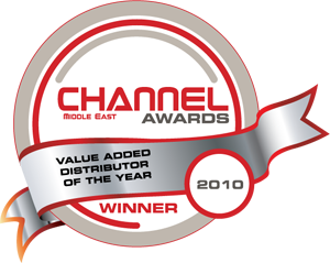 <p>« Distributeur de valeur ajoutée de l'année » (« Value Added Distributor of the Year ») – Channel Middle East</p>